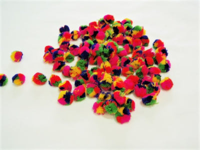 Pom Poms - Craft Budget Packets (Approx 50pcs)