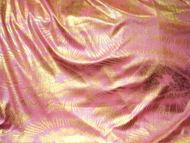 Ribbed Jersey Foil