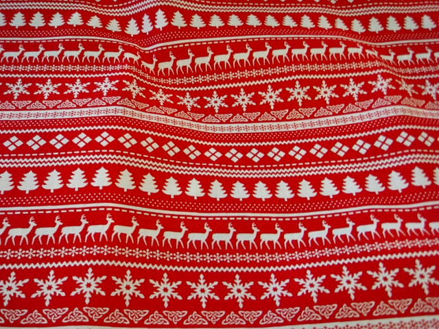 Scandinavian Christmas - Poly/Cotton Print
