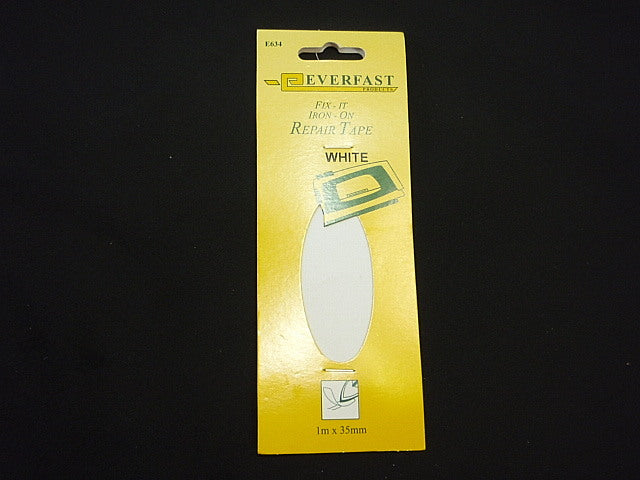 Fix-It Iron On Repair Tape WHITE