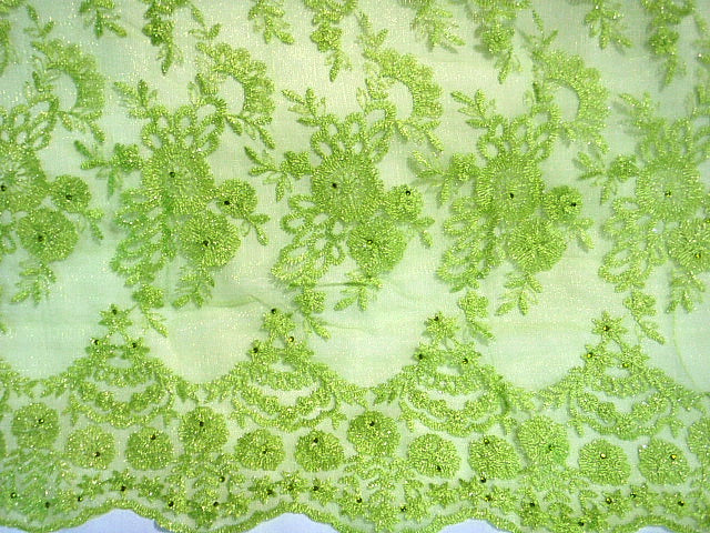 Design 11 - Clearance Embroidered Tulle