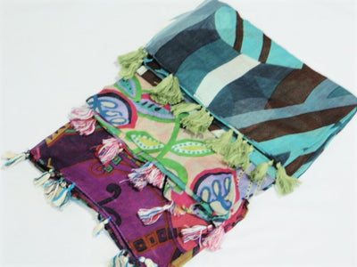 3 Pack Retro Print Stoles - Bundle #2