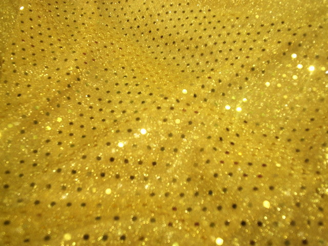 Polka Dots Sequin 3mm - Jersey Knit