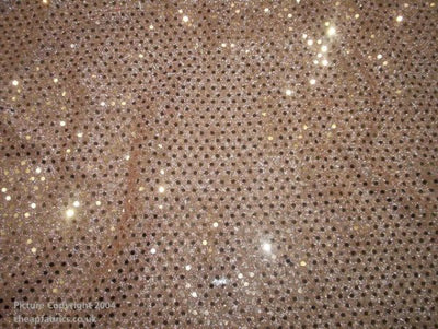 Round Polka Dots Sequin 3mm - Jersey Knit