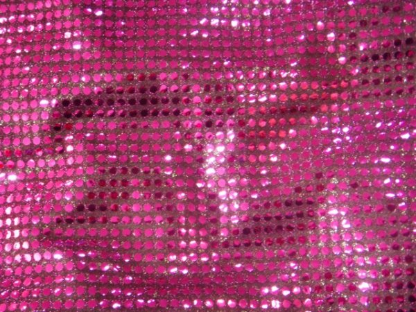 Polka Dots Sequin 6mm - Jersey Knit