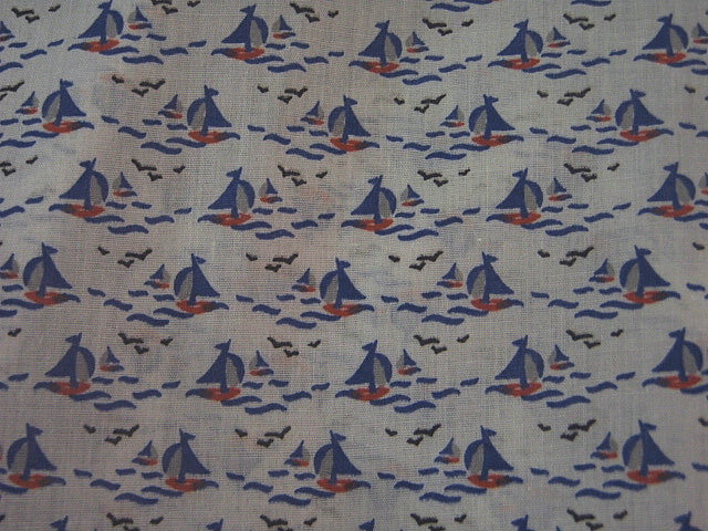 Sails - Poly/Cotton Print