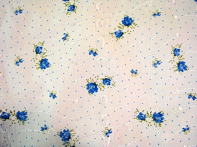 Printed Embroidery Anglais