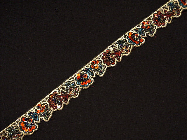 Brocade Metallic Trim