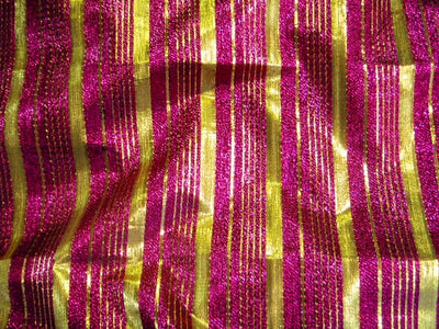 Design 5 - Striped Metallic Brocade