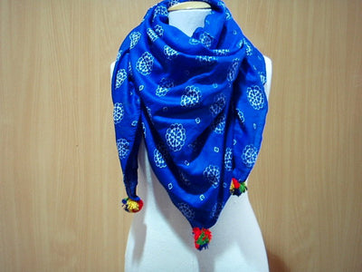 Sunflower - Printed Poly Cotton Blend Scarf