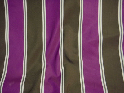 Wide Striped Crepe Fabric