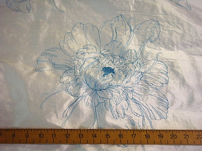 Willow - Embroidered Silk Dupion