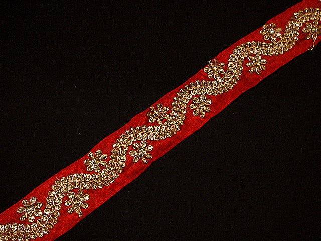 Wave - Metallic Thread Woven Exclusive Trim