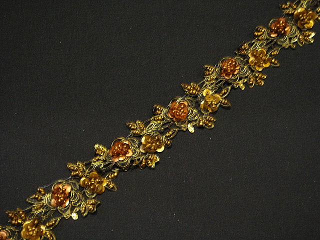 Copper - Beaded And Sequin Exclusive Trim