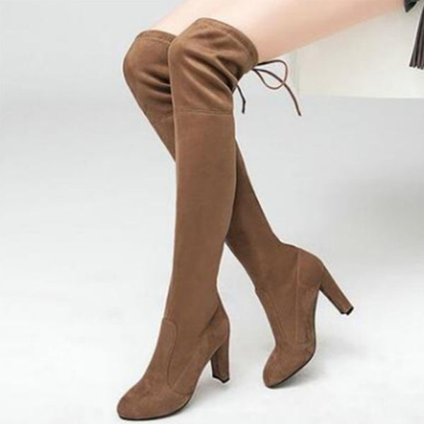 Fashion Sexy Over-The-Knee Boots