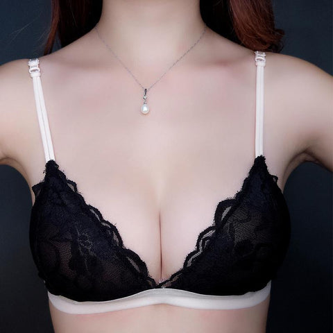 Girl No Steel Ring Lace Underwear Ladies Sexy Bikini Bra