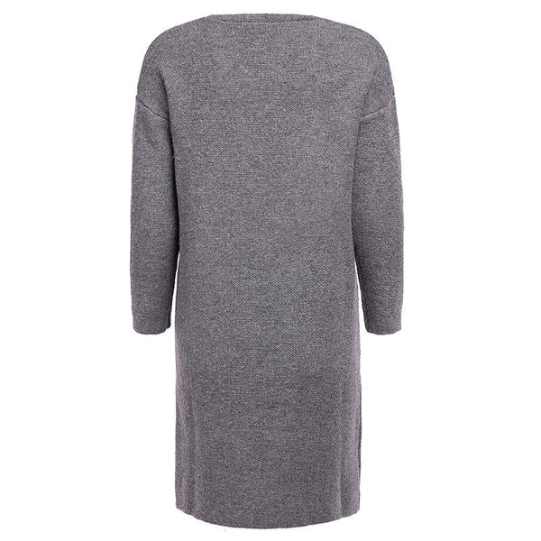 Pearl Pocket Long Sleeve Fashion Plain Cardigans