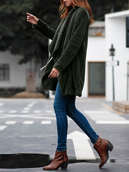 Women's Winter Cardigan Coat