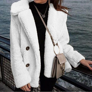Fashion Slim Long Sleeve Lapel Cardigan Jacket Coat