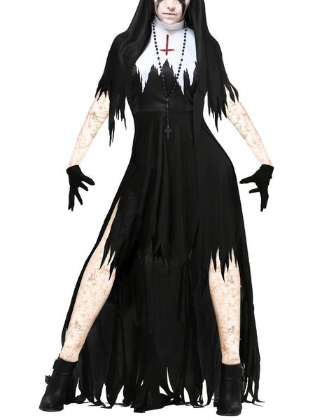 Lady Halloween Nun Costume Cosplay Foreign Trade Role Playing Vampire Demons