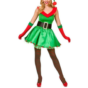 Christmas Costume Christmas Party Masquerade Party Adult Set