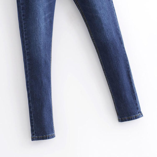 High Waist Slimming Stretch Jeans
