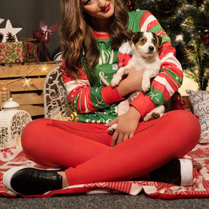 Christmas Costume Adult Round Neck Long Sleeve Sweater