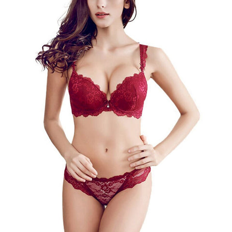 Sexy Lace Bra Sets Push Up Women Underwear