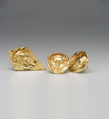 Egyptian Earrings and Pendant, 1998
