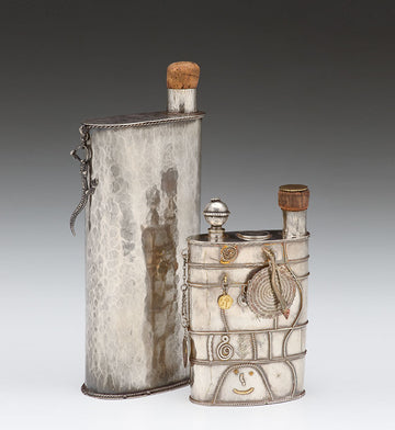 Whiskey Flask, 1998 - Flask, 1980