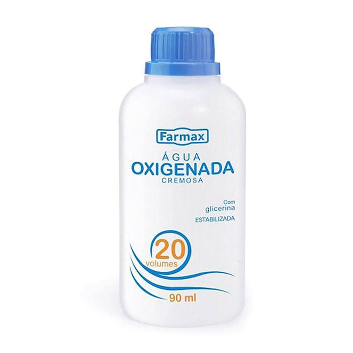 Água Oxigenada Cremosa Farmax 20Vol 90ml - Favi Foods Brazilian Grocery Food Market