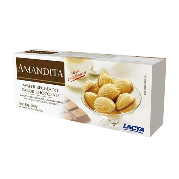 Chocolate Amandita Lacta 200g - Favi Foods Brazilian Grocery Food Market