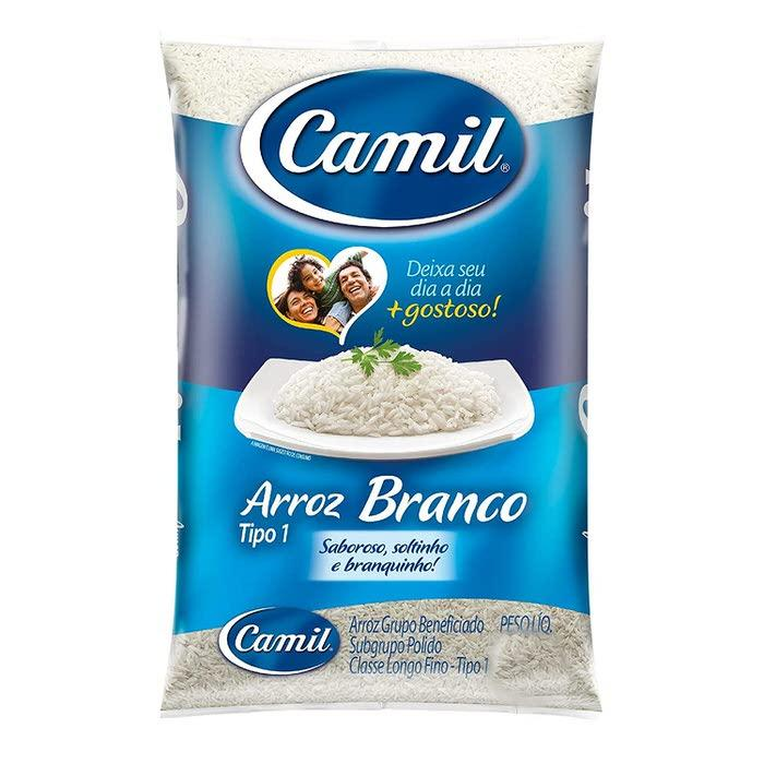 Arroz Branco Camil 2lbs - Favi Foods Brazilian Grocery Food Market