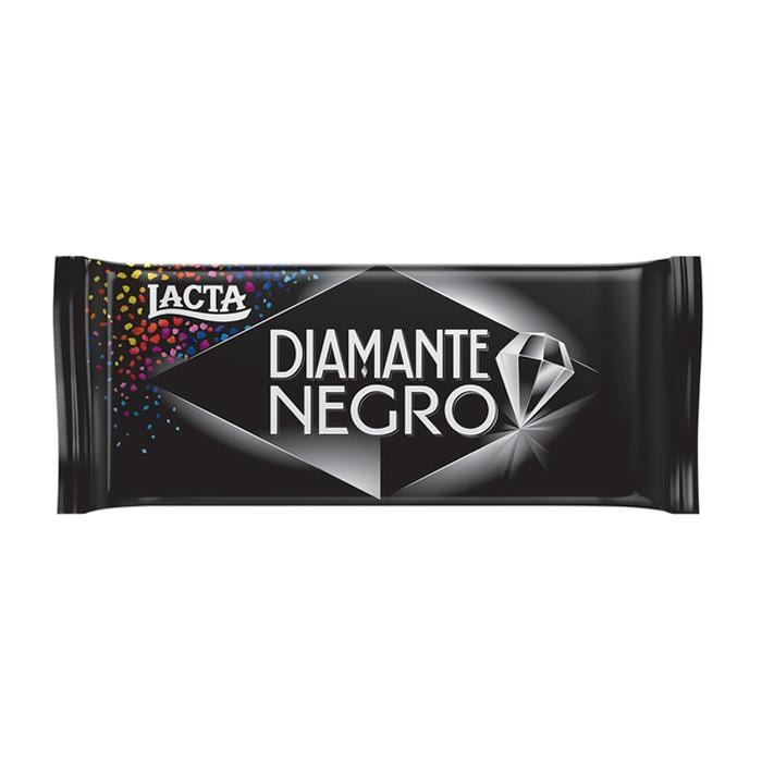 Chocolate Diamante Negro Lacta Tablete 90g - Favi Foods Brazilian Grocery Food Market