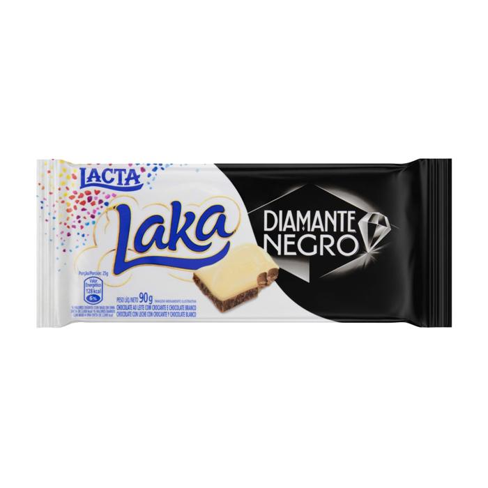 Chocolate Laka Diamante Negro Duo Lacta 90g - Favi Foods Brazilian Grocery Food Market