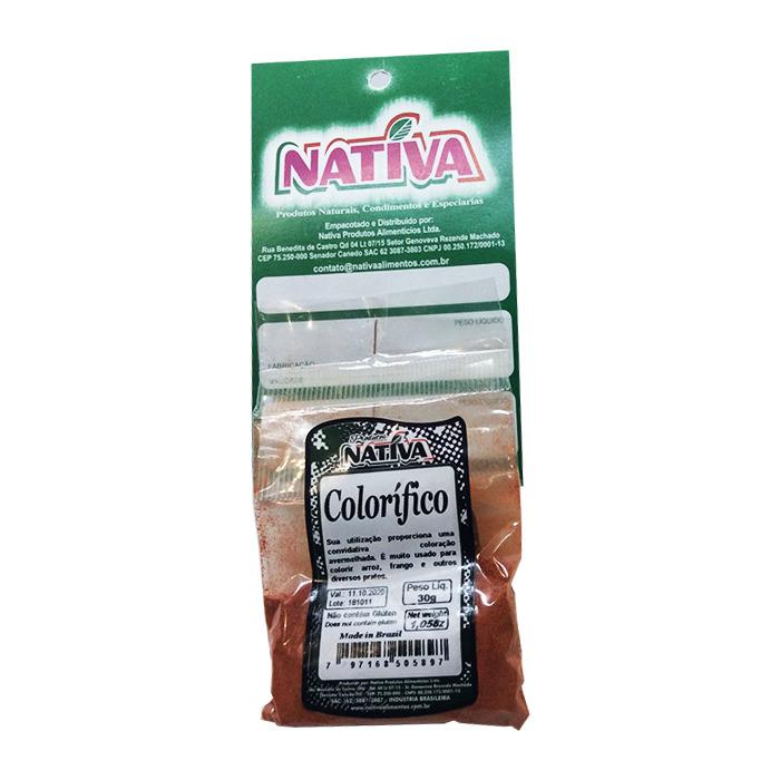 Colorau Nativa 30g - Favi Foods Brazilian Grocery Food Market