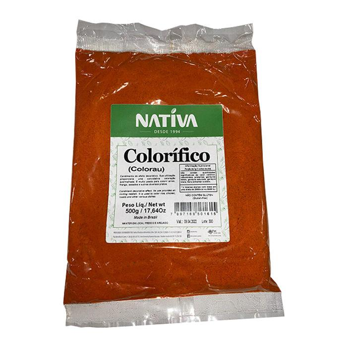 Colorau Nativa 500g - Favi Foods Brazilian Grocery Food Market