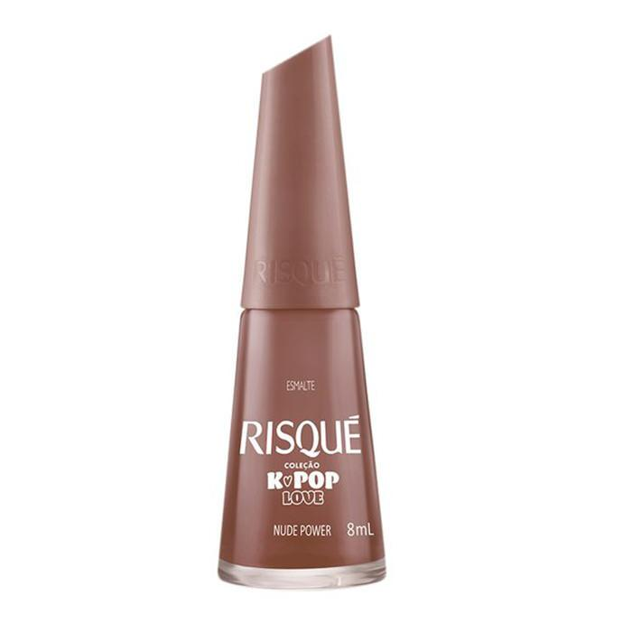 Esmalte Nude Power Cremoso Risqué 8ml - Favi Foods Brazilian Grocery Food Market