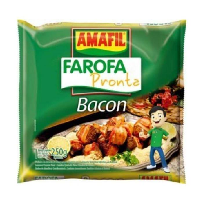 Farofa Pronta de Bacon Amafil 250g - Favi Foods Brazilian Grocery Food Market