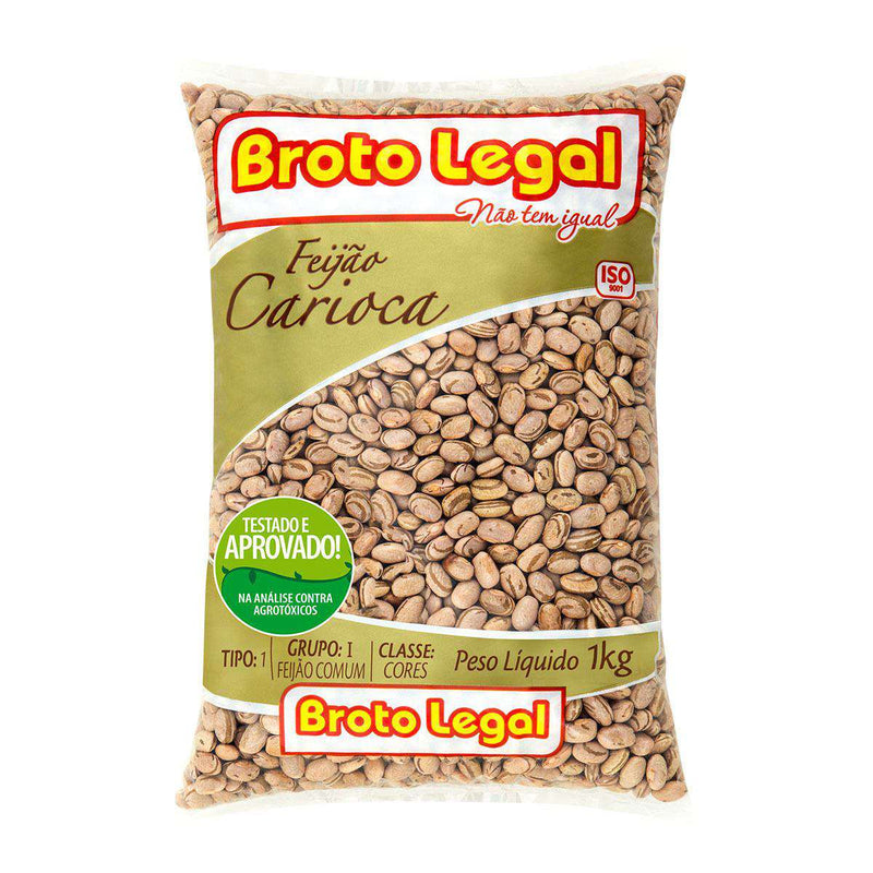 Feijão Carioca Broto Legal 1Kg - Favi Foods Brazilian Grocery Food Market