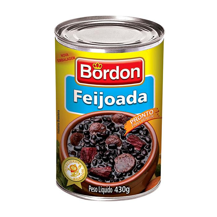 Feijoada Bordon 430g - Favi Foods Brazilian Grocery Food Market