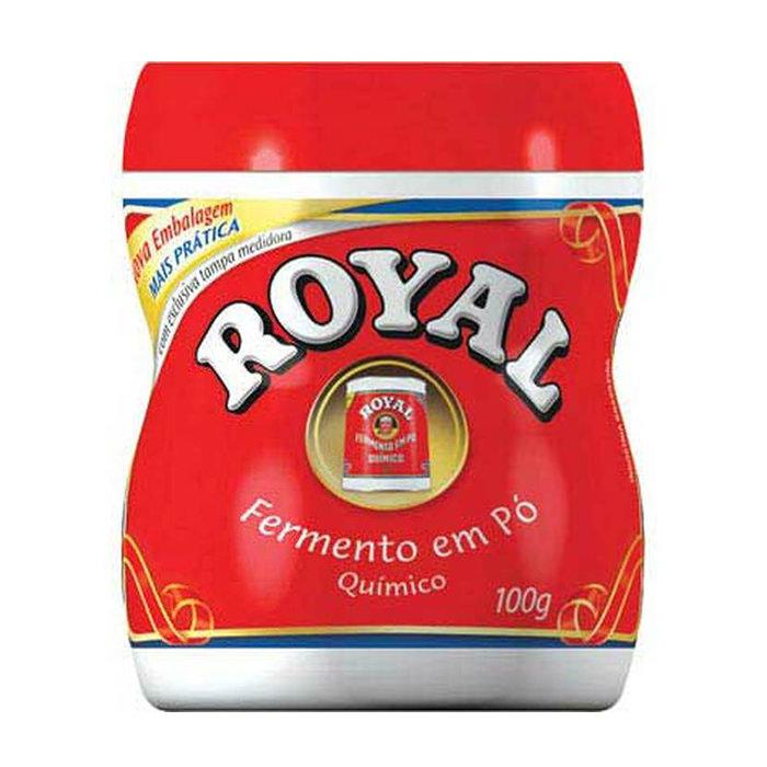 Fermento em Pó Royal 100g - Favi Foods Brazilian Grocery Food Market