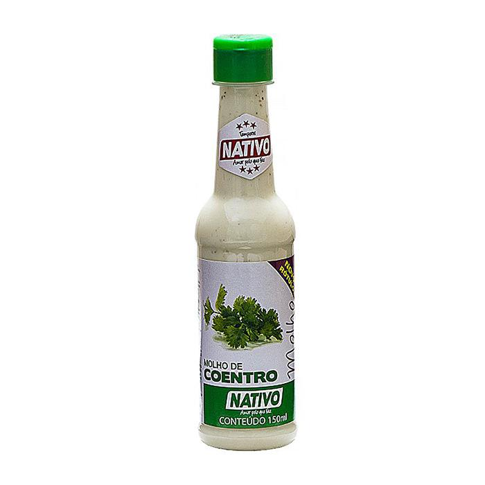 Molho de Coentro Nativo 150ml - Favi Foods Brazilian Grocery Food Market