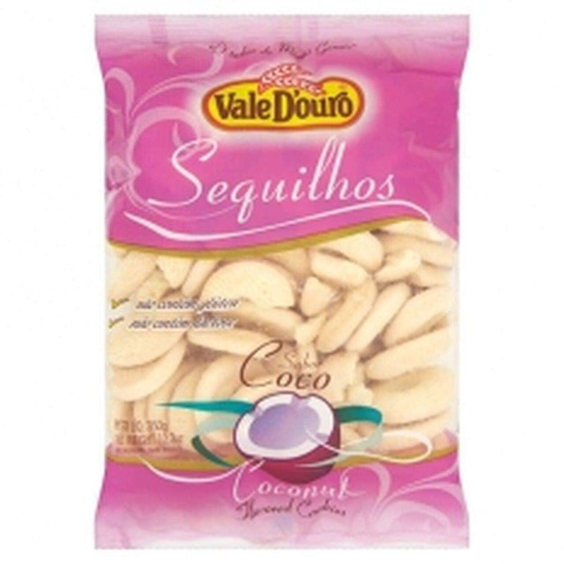 Sequilhos de Coco Vale D'Ouro 350g - Favi Foods Brazilian Grocery Food Market