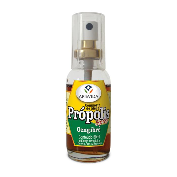 Spray de Própolis Mel e Gengibre Apis Vida 30ml - Favi Foods Brazilian Grocery Food Market