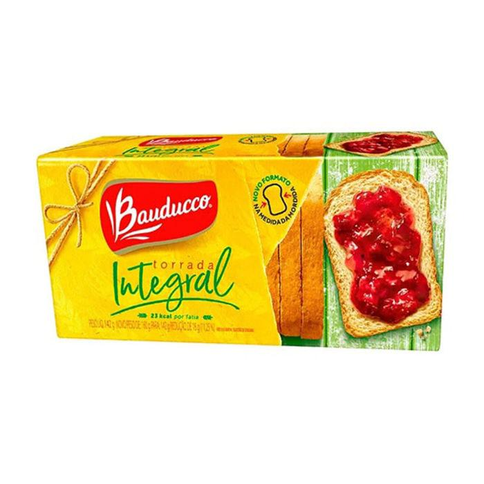 Toast Integral Whole Wheat Bauducco 142g - Favi Foods Brazilian Grocery Food Market