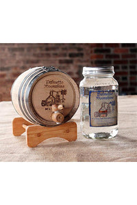 PERSONALIZED - OAK BARREL AGING KIT - INCLUDES 1 L WHITE LIGHTNING MOONSHINE 750 ml