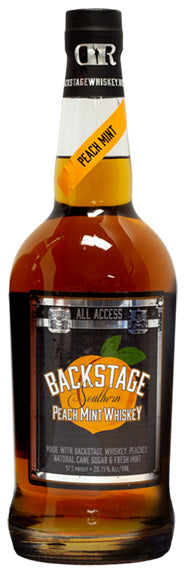BACKSTAGE SOUTHERN PEACH MINT WHISKEY