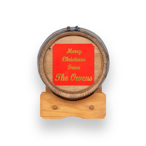 PERSONALIZED - OAK BARREL AGING - 1 LITER / 3 LITER / 5 LITER