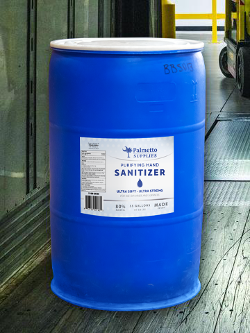 HAND SANITIZER - 55 GALLON DRUM